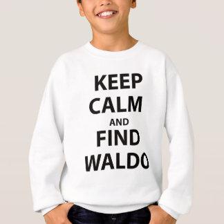 Keep Calm and Find Waldo Sweatshirt