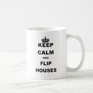 KEEP CALM AND FLIP HOUSES COFFEE MUG