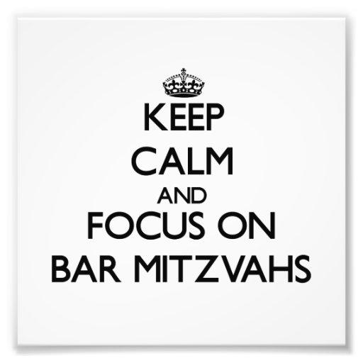Keep Calm and focus on Bar Mitzvahs Photo