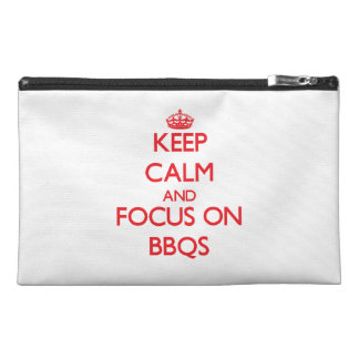 Keep Calm and focus on Bbqs Travel Accessories Bags