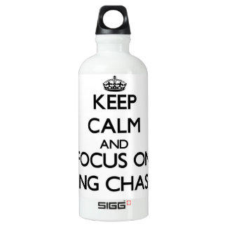 Keep Calm and focus on Being Chaste SIGG Traveller 0.6L Water Bottle
