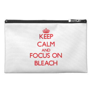 Keep Calm and focus on Bleach Travel Accessories Bag