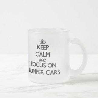 Keep Calm and focus on Bumper Cars Mug