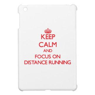 Keep Calm and focus on Distance Running iPad Mini Case