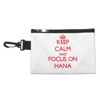 Keep Calm and focus on Hana Accessories Bag