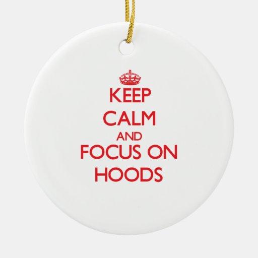 Keep Calm and focus on Hoods Christmas Tree Ornaments