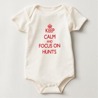 Keep Calm and focus on Hunts Bodysuits