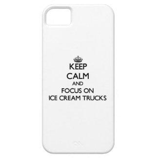 Keep Calm and focus on Ice Cream Trucks iPhone 5 Cases