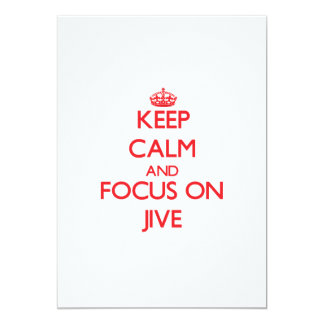 Keep Calm and focus on Jive Custom Announcements
