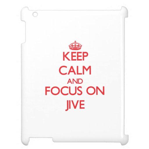 Keep Calm and focus on Jive iPad Cases
