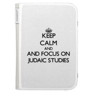 Keep calm and focus on Judaic Studies Kindle Cover