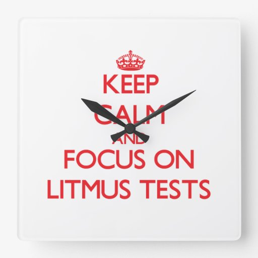 Keep Calm and focus on Litmus Tests Wallclock