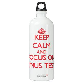 Keep Calm and focus on Litmus Tests SIGG Traveller 1.0L Water Bottle