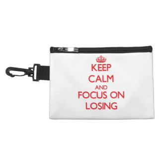 Keep Calm and focus on Losing Accessories Bag