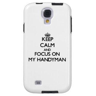 Keep Calm and focus on My Handyman