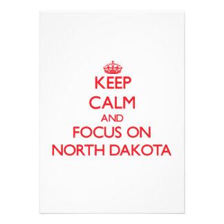 Keep Calm and focus on North Dakota Announcements