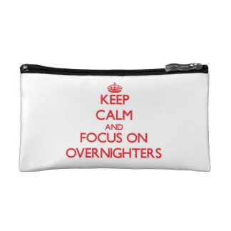 Keep Calm and focus on Overnighters Makeup Bag