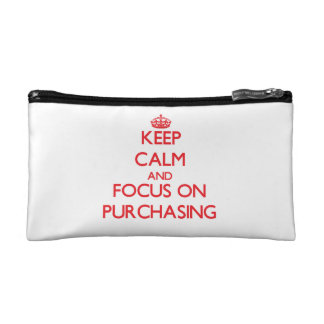 Keep Calm and focus on Purchasing Cosmetic Bag