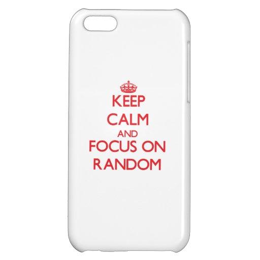 Keep Calm and focus on Random Case For iPhone 5C