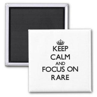 Keep Calm and focus on Rare Refrigerator Magnets