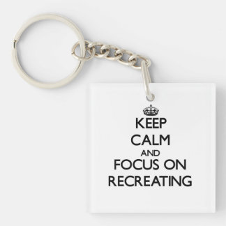 Keep Calm and focus on Recreating Key Ring