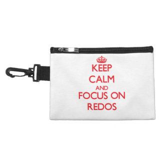 Keep Calm and focus on Redos Accessories Bag