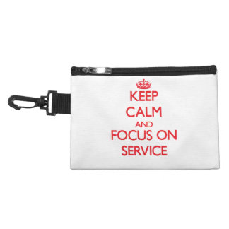 Keep Calm and focus on Service Accessory Bags