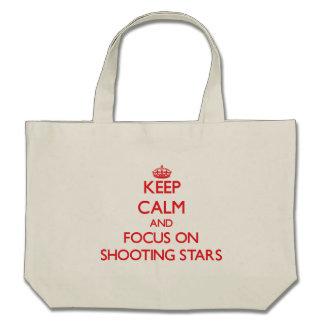 Keep Calm and focus on Shooting Stars Bag