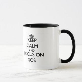 Keep Calm and focus on Sos Mug