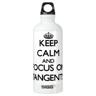 Keep Calm and focus on Tangents SIGG Traveller 0.6L Water Bottle
