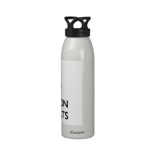 Keep Calm and focus on Tangents Drinking Bottle