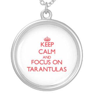 Keep Calm and focus on Tarantulas Necklaces