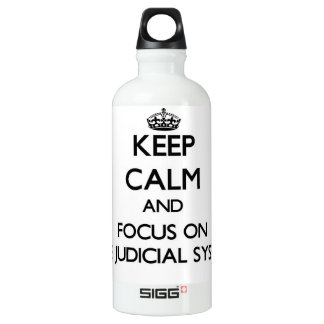 Keep Calm and focus on The Judicial System SIGG Traveller 0.6L Water Bottle