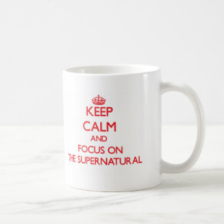 Keep Calm and focus on The Supernatural Mugs