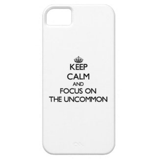 Keep Calm and focus on The Uncommon iPhone 5 Covers