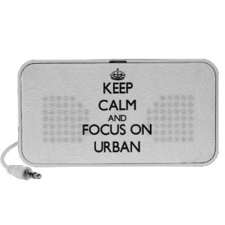 Keep Calm and focus on Urban PC Speakers