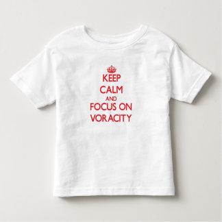 Keep Calm and focus on Voracity Shirts
