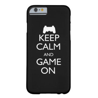 Keep Calm and Game On Barely There iPhone 6 Case