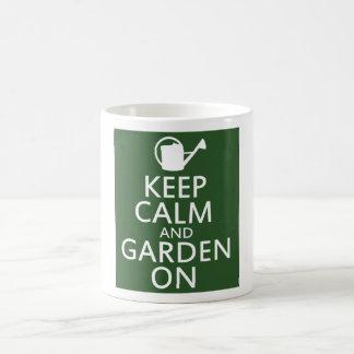 Keep Calm and Garden On Mug