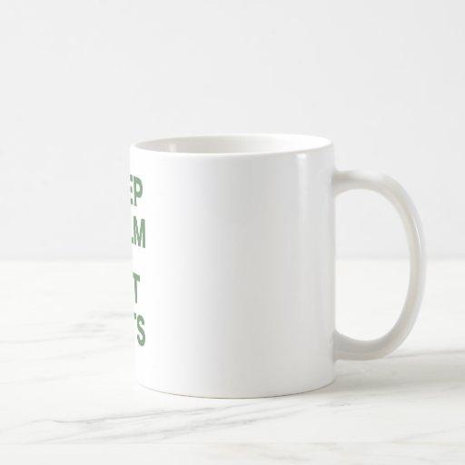 Keep Calm and Get Tats Coffee Mugs
