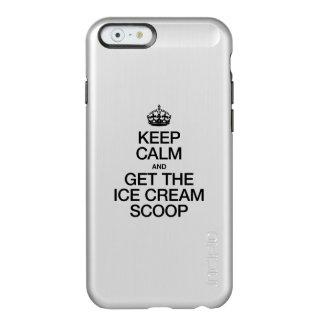KEEP CALM AND GET THE ICE CREAM SCOOP INCIPIO FEATHER® SHINE iPhone 6 CASE