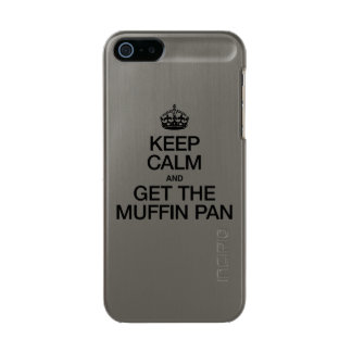 KEEP CALM AND GET THE MUFFIN PAN INCIPIO FEATHER® SHINE iPhone 5 CASE