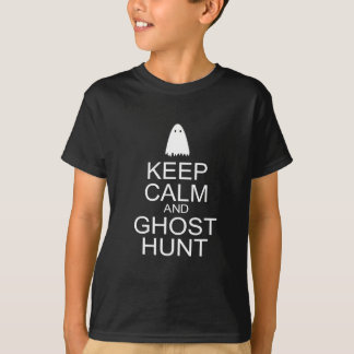Keep Calm and Ghost Hunt (Parody) Tshirts