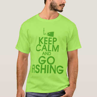 Keep Calm and Go Fishing Shirt