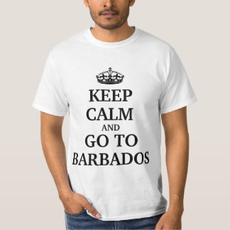 Keep calm and go to Barbados T-Shirt