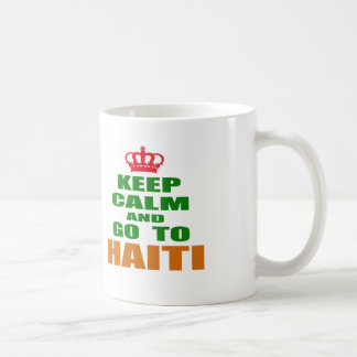 Keep calm and go to Haiti. Coffee Mug