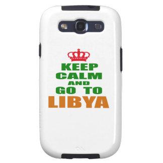 Keep calm and go to Libya. Galaxy SIII Cover
