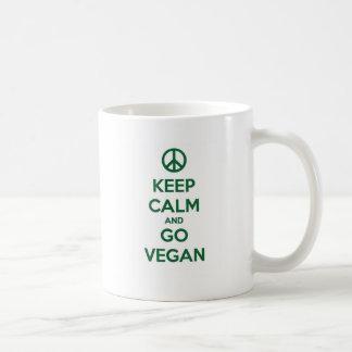 Keep Calm and GO VEGAN Coffee Mug