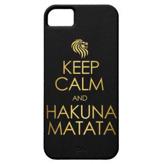 Keep Calm and Hakuna Matata Barely There iPhone 5 Case