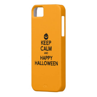 KEEP CALM AND HAPPY HALLOWEEN - png iPhone 5 Cover